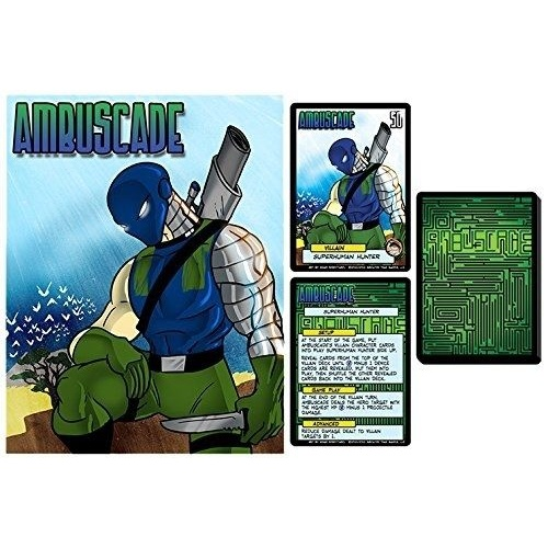 Sentinels of the Multiverse: Ambuscade Villain Character