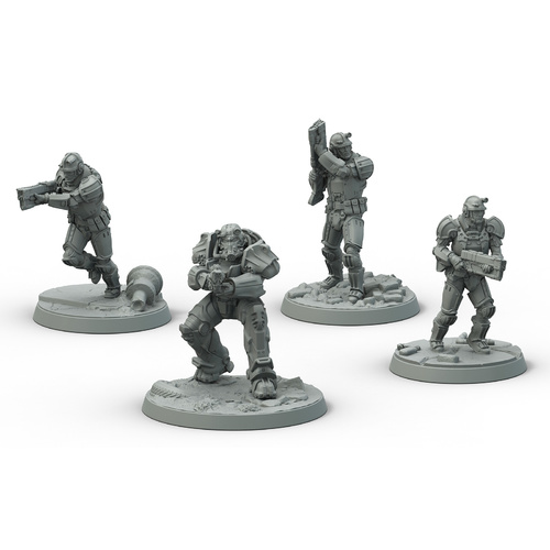 Fallout Wasteland Warfare Brotherhood of Steel Frontline Knights