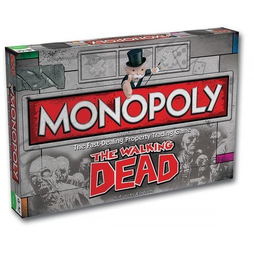 Monopoly: The Walking Dead - Survival Edition
