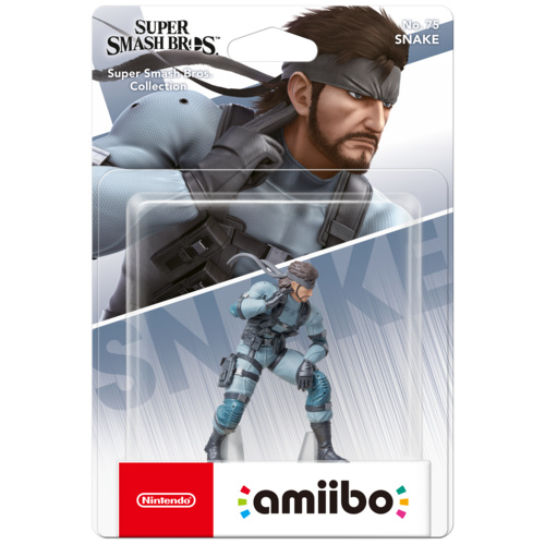 SWI amiibo Snake - Super Smash Bros. Ultimate Collection