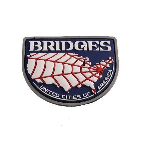 Death Stranding Bridges Cosplay Patch