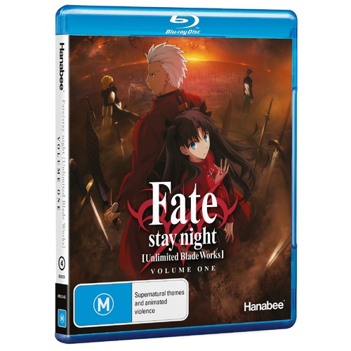 Fate/Stay Night: Unlimited Blade Works - Part 1 Std Ed (Blu-Ray)